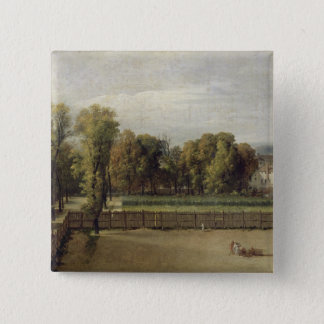View of the Luxembourg Gardens in Paris, 1794 Button