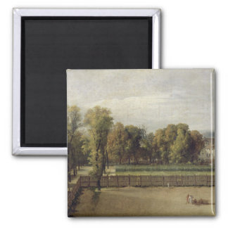 View of the Luxembourg Gardens in Paris, 1794 Magnet