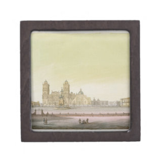 View of the main square in Mexico City (colour eng Gift Box