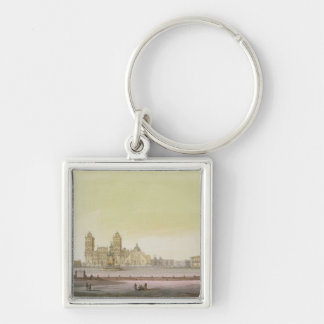 View of the main square in Mexico City (colour eng Keychain