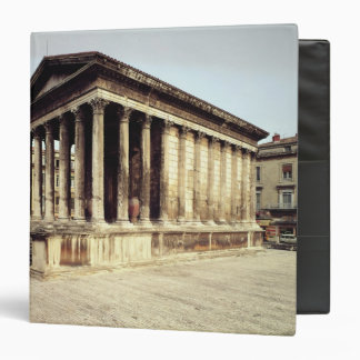 View of the Maison Carree, c.19 BC Binders