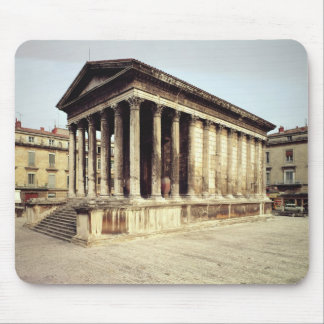 View of the Maison Carree, c.19 BC Mouse Pad