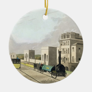 View of the Manchester and Liverpool Railway, take Ceramic Ornament