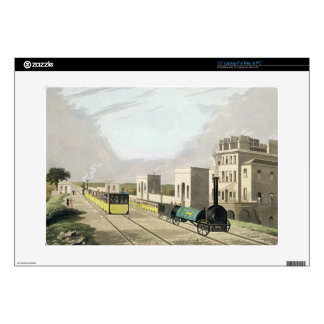 """View of the Manchester and Liverpool Railway, take Decal For 15"""" Laptop"""