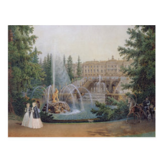 View of the Marly Cascade Postcard