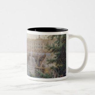 View of the Marly Cascade Two-Tone Coffee Mug