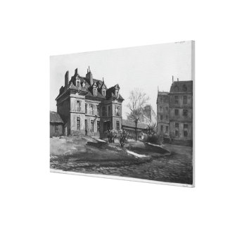 View of the Maternite Port-Royal, 1905 Stretched Canvas Prints