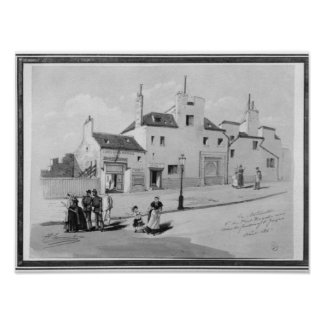 View of the Maternite Port-Royal, August 1886 Posters