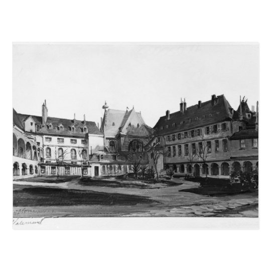 View of the Maternite Port-Royal the cloister Postcard