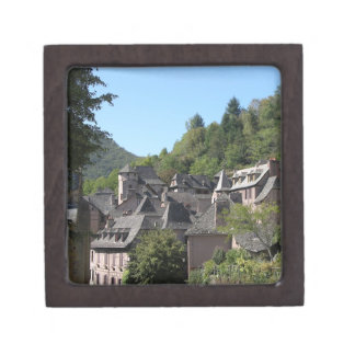 View of the medieval village (photo) premium gift box