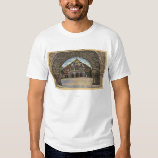 View of the Memorial Church, Stanford U. Shirt