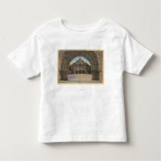 View of the Memorial Church, Stanford U. Toddler T-shirt