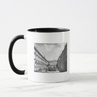 View of the Men's Yard at the Conciergerie Mug