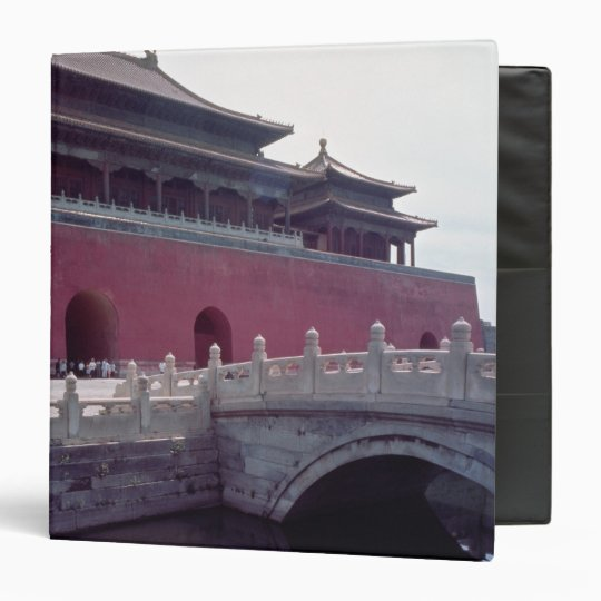 View of the Meridian Gate Binder