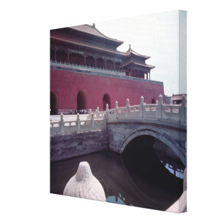 View of the Meridian Gate Canvas Print