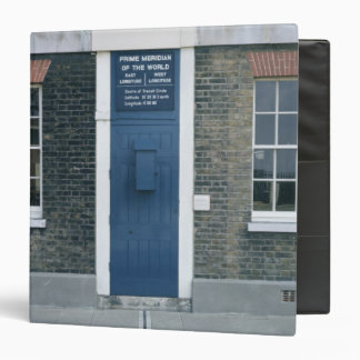 VIew of the meridian line 3 Ring Binder