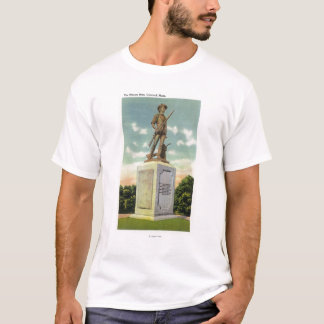View of the Minute Man Statue T-Shirt