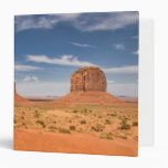 View of the Mittens, Monument Valley 3 Ring Binder