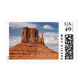 View of the Mittens, Monument Valley Postage