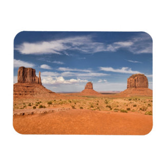 View of the Mittens, Monument Valley Vinyl Magnet