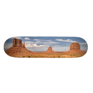 View of the Mittens, Monument Valley Skateboard