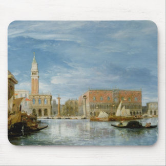 View of the Molo and the Palazzo Ducale Mouse Pad