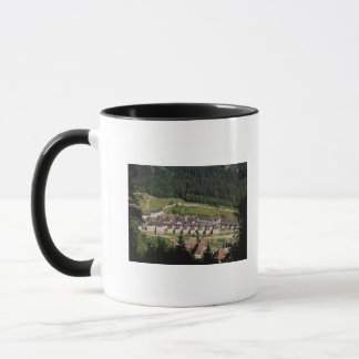 View of the monastery complex mug