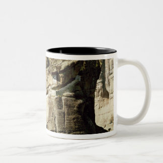 View of the Monastery of the Holy Trinity Two-Tone Coffee Mug