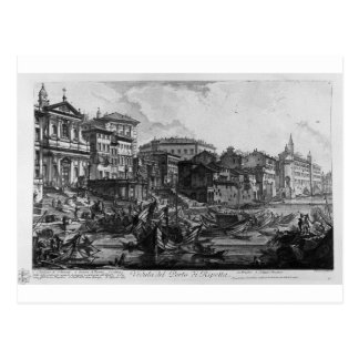 View of the monument erected by the Emperor Titus Postcard