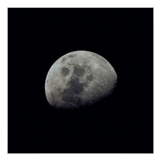 View of the Moon from Apollo 10 Poster