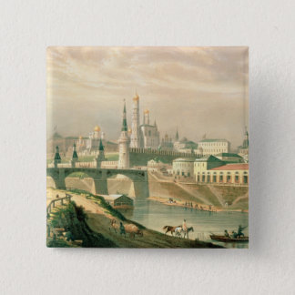 View of the Moscow Kremlin, 1830 Button