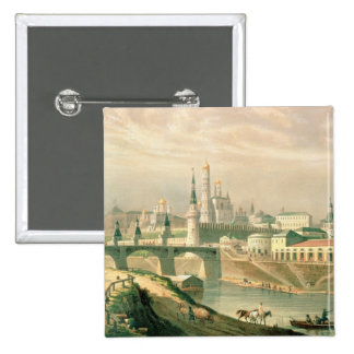 View of the Moscow Kremlin, 1830 Buttons