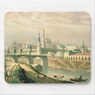 View of the Moscow Kremlin, 1830 Mouse Pad