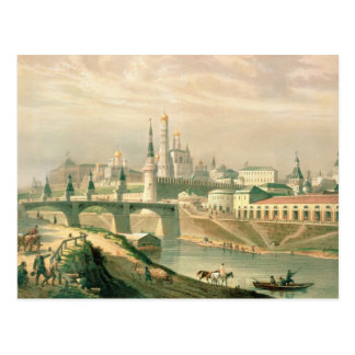 View of the Moscow Kremlin, 1830 Postcard