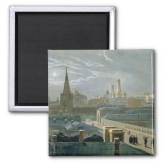 View of the Moscow Kremlin, 1840's Refrigerator Magnets