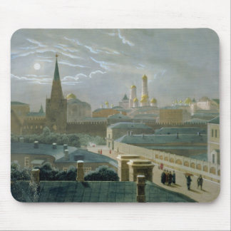 View of the Moscow Kremlin, 1840's Mouse Pad