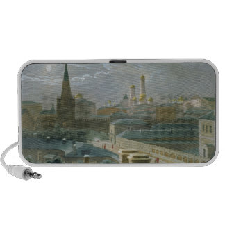 View of the Moscow Kremlin, 1840's iPhone Speakers