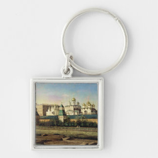 View of the Moscow Kremlin from the Embankment Key Chain