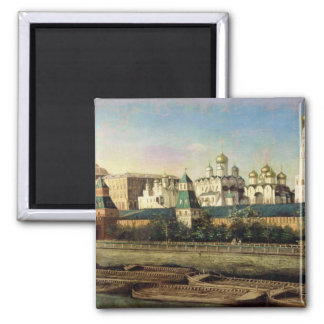 View of the Moscow Kremlin from the Embankment Fridge Magnet