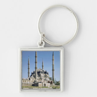 View of the mosque, Ottoman, built c.1569-75 Keychain