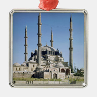 View of the mosque, Ottoman, built c.1569-75 Metal Ornament