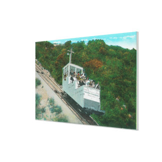 View of the Mt. Lowe Incline Cable Car Canvas Print