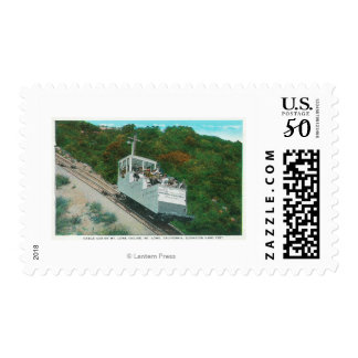 View of the Mt. Lowe Incline Cable Car Postage