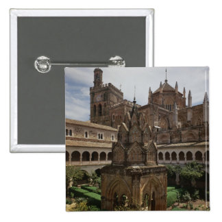 View of the mudejar cloister button