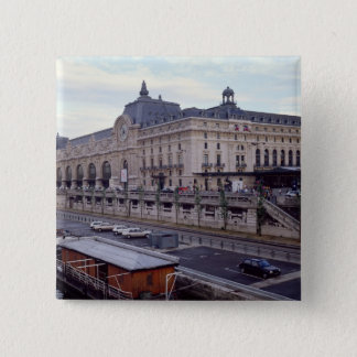 View of the Musee d'Orsay from the north-west Pinback Button