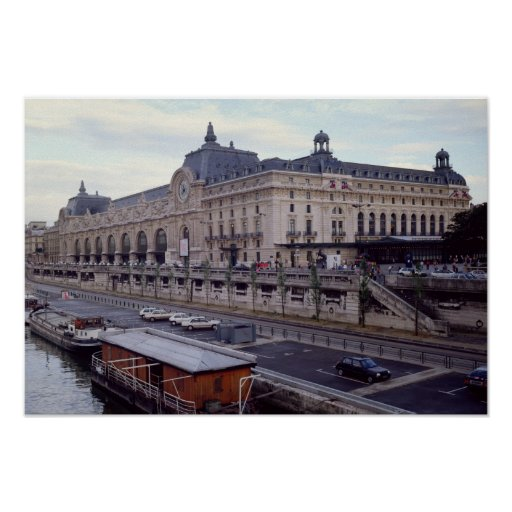 View of the Musee d'Orsay from the north-west Print