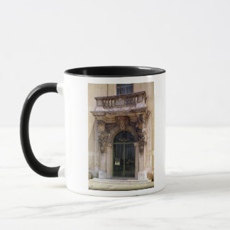 View of the museum entrance mug