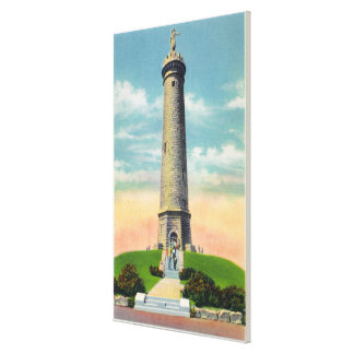 View of the Myles Standish Monument # 2 Canvas Print