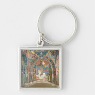 View of the narthex, 1332-3 keychain