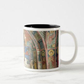 View of the narthex, 1332-3 coffee mug